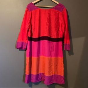 Boden color black dress